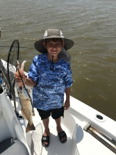 isaac and his redfish